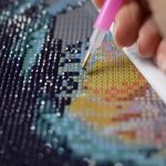Diamond painting eigen foto is zeer interessant
